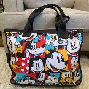 Super Rare Disneyland Park Mickey Mouse Faces Tote